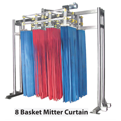 8 basket curtain